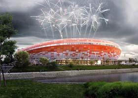 2018 World cup FIFA俄罗斯体育场设计