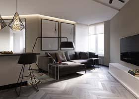 俄罗斯Roman Sinitsa现代室内设计作品