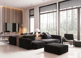 俄罗斯Maxim Nizovkin现代室内设计作品欣赏