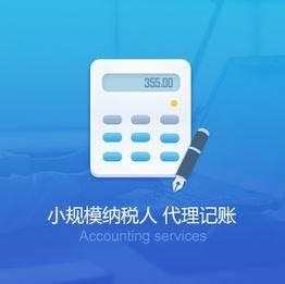 小规模记账报税(零报税)