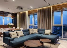River View公寓现代室内设计欣赏